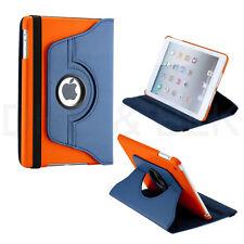 rotación de 360 GRADOS Funda De Polipiel con Soporte para Apple iPad Mini 1 2 3G