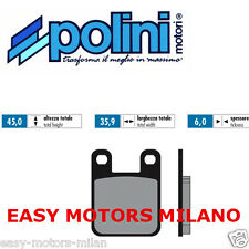 174.0015 POLINI COPPIA PASTIGLIE FRENO BETA MOTARD ALU AM6 2003 50 CC