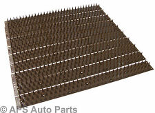 10pc Security Spikes Brown Fence Window Sill Gate Wall Home Animals Burgulars 5m