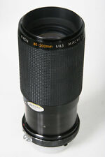 Kiron 80-200mm, f/4.5. Nikon AI Manual Focus Mount