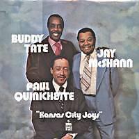 B. Tate/J.Mc Shann/P. Quinichette Kansas ci UK Press LP