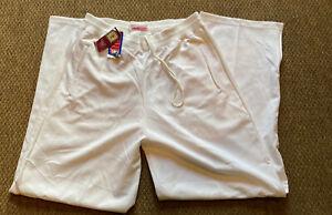 Mitchell & Ness Hardwood Classic White  NBA Warm Up Pants Mens 42