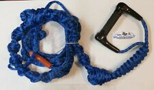 AirheadPolyE Blue /Black Wake Surf Rope 16', D-Handle Knotted, AHWS-R01 - 1