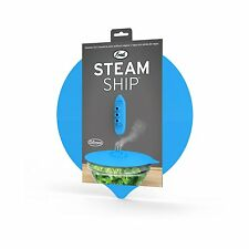 Microwave Oven Steam Ship Steaming Lid Steamship Pot Hot Cover Kitchen Cook5.7''