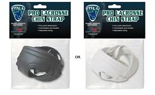 A&R MLL Major League Lacrosse Pro Helmet 4 Pt. Chin Strap Adjustable Blk or Wht