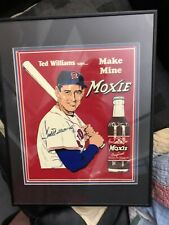 Ted William Moxie Cola Signed Certified Authentic