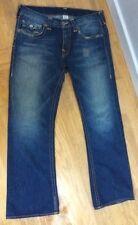 TRUE RELIGION Billy BIG T Heritage Pockets RARE Mens Jeans 36 x 35 *42 Waistband