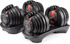BOWFLEX SelectTech 552 Two Adjustable Dumbbells (Set of 2) Pair 100182