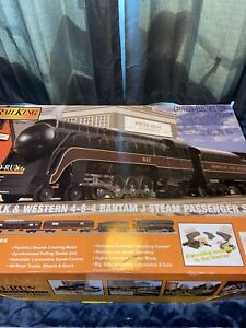 MTH- Norfolk and Western 4-8-4 Steam Locomotive - O Gauge Rare Awesome