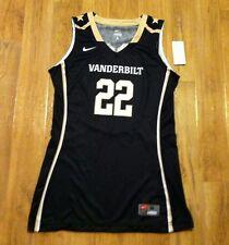 New Nike Women's M Vanderbilt Dores Home Game Jersey Hyper Elite Basketball