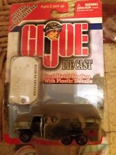GI Joe Series 1 Die Cast  Army Truck & Military Pumper Vehicle 2001 NEW