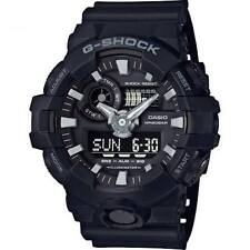 Casio G-Shock Time Black GA-700-1BER Alarm Chronograph Gift Men Him Boy