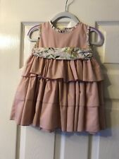 Designer Babine Baby Girl Occasion Dress Size 2A