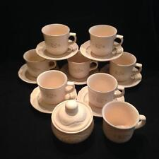 PFALTZGRAFF REMEMBRANCE 8 cups, 7 saucers and 1 sugar bowl Unused