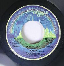 Rock 45 Leon Redbone - (Mama'S Got A Baby Named) Te Na Na / Seduced On Atlanta R