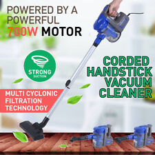 Vacuum Cleaner 700W Hand Held -2 in 1 Upright Corded Stick Bagless Vac