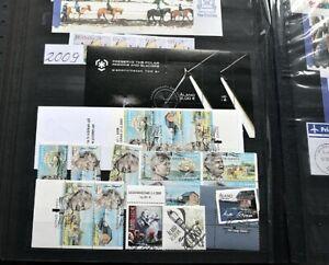 ALAND 1984/2009 Gestempelte Sammlung mit vielen Markenheftchen per 2 Hoher Wert
