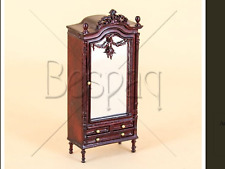 "Dollhouse Miniature HALF SCALE BESPAQ ""Jeanne"" Swag Armoire Bedroom 1/24th"