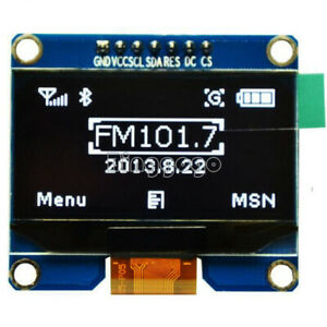 """1.54"""" White SPI OLED LCD LED Display Module SPI for Arduino AVR STM32 8051"""