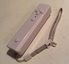 P2 White Wii Controller w/ Wristband A B & Directional Button Motion ? Nintendo