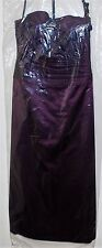 Bill Levkoff Formal Wedding Bridesmaid Prom Evening Dress Size 18 418 E EGGPLANT