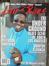 LIVING BLUES Magazine #240 (2015) LOS ANGELES SCENE Peterson Bros BOBBY BENNETT