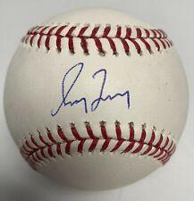 Greg Maddux Signed MLB Baseball Braves Cubs PSA AF36576