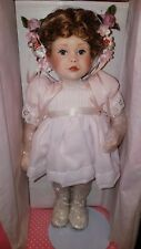"""14"""" A PARTY FOR SARAH PARADISE GALLERIES PORCELAIN DOLL--NEW IN BOX"""