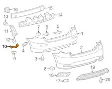 For Toyota Genuine Bumper Cover Support Rail Rear Left 5215602090