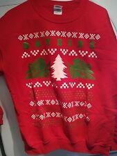 Bayside Pullover Christmas Sweatshirt Medium Great Condition
