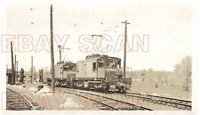 8G731 RP 1947 CSS&SB SOUTH SHORE RAILROAD LOCOMOTIVE #901-902  MICHIGAN CITY IN