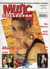 Music Collector #26 April 1991 - Madonna, Slade, Rolling Stones, Motors