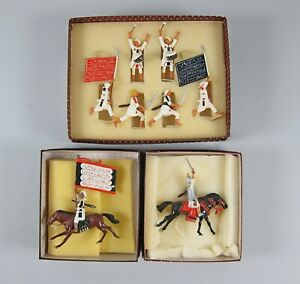 Imperial Soldiers Sets 49a,52+54 Mahdist Infantry,Mounted Banner Bearer,Emir