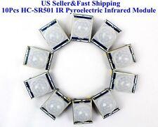 Us 10pcs Hc Sr501 Ir Pyroelectric Infrared Ir Pir Motion Sensor Detector Module