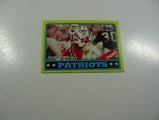 New England Patriots, AFC Champs 1986 Topps James on the Run card #29