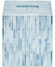 Jla Home Atlantic Mosaic 5.71� X 6.3� Tissue Cover Blue T410356