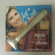 Vintage Women's Razor Gillette Atra Just Whistle RARE 1983