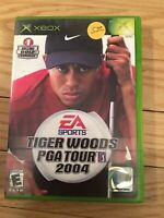 EA SPORTS TIGER WOODS PGA TOUR 2004 - XBOX - NO MANUAL - FREE S/H - (SS)