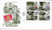 US Scott #3961-64, First Day Cover 11/10/05 Camp Pendleton Plate Block Marines