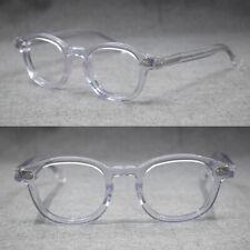 Brand Luxury Acetate Eyeglasses Full Frames Women Men Glasses Retro Johnny Depp