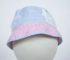 STARTING OUT NWT GIRLS INFANT PINK BLUE MINT GREEN GINGHAM HAT CAP  NEW