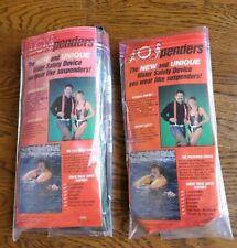 2xSospenders Adult Inflatable Boat Flotational Life Vests . Size L. Vintage