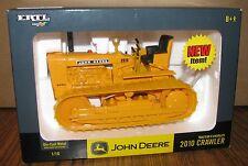 John Deere 2010 Diesel Crawler Tractor 1/16 Ertl Toy #15634 NEW 2004 Industrial