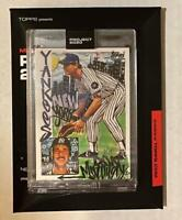 Topps PROJECT 2020 Don Mattingly 1994 by King Saladeen Card #47 Yankees PR /2763