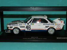 Minichamps 1/18 BMW 3.5 CSL Team Brock Le Mans 1976 Limited Edition MiB