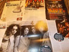 KISS  CELEBRITY  CLIPPINGS PACK  GOOD CONDITION
