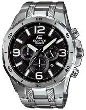 Casio Edifice Men's EFR538D-1AV Chronograph Quartz Black Dial Bracelet Watch