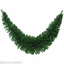 2.1m Deluxe Christmas Party Natural Green Pine Tinsel Swag Garland Decoration