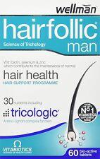 Vitabiotics Wellman Hairfollic for Hair Health Micronutrients 60 Tablets