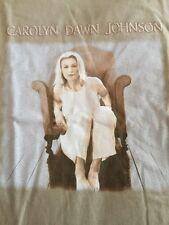 Carolyn Dawn Johnson Tour Concert Shirt Size L